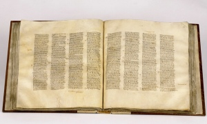 Codex Sinaiticus Photo: British Library