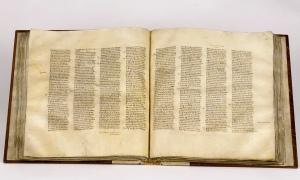 Codex Sinaiticus Photo: British Library