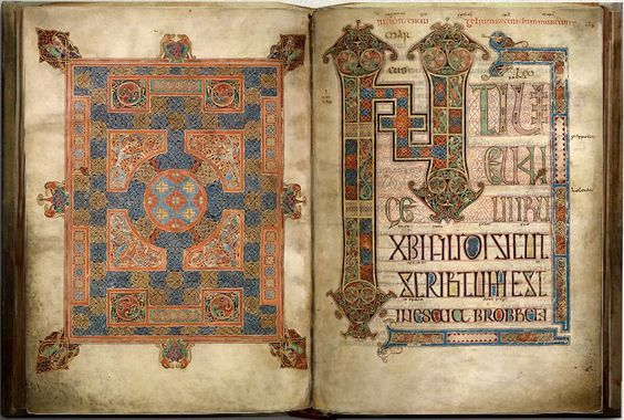 Lindisfarne_Matthew_carpet_and_incipit