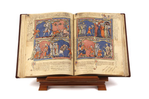 Crusader-Bible_Facsimile-on-parchment-300x200